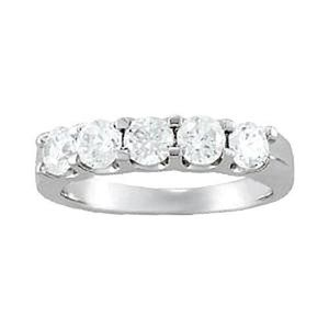 Prong Set White Gold 14K 1.25 Carat Diamond Engage